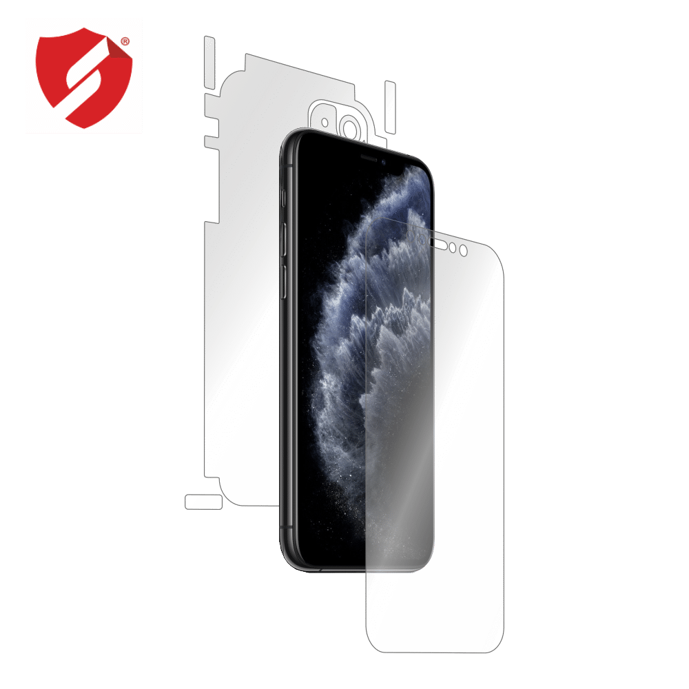 Folie de protectie Smart Protection Apple iPhone 11 - fullbody - display + spate + laterale imagine