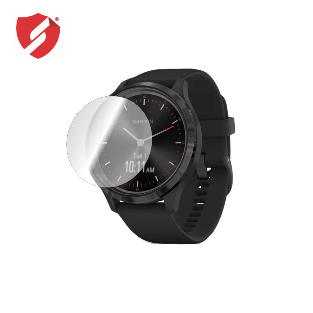 Folie De Protectie Smart Protection Smartwatch Garmin Vivomove 3 44mm - 4buc X Folie Display