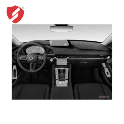 Folie de protectie Clasic Smart Protection Interior bord + Navi Mazda 3 model 2019