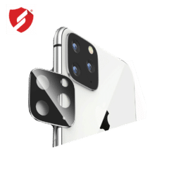 Protectie argintie Smart Protection pentru lentile camera iPhone 11 Pro si iPhone 11 Pro Max