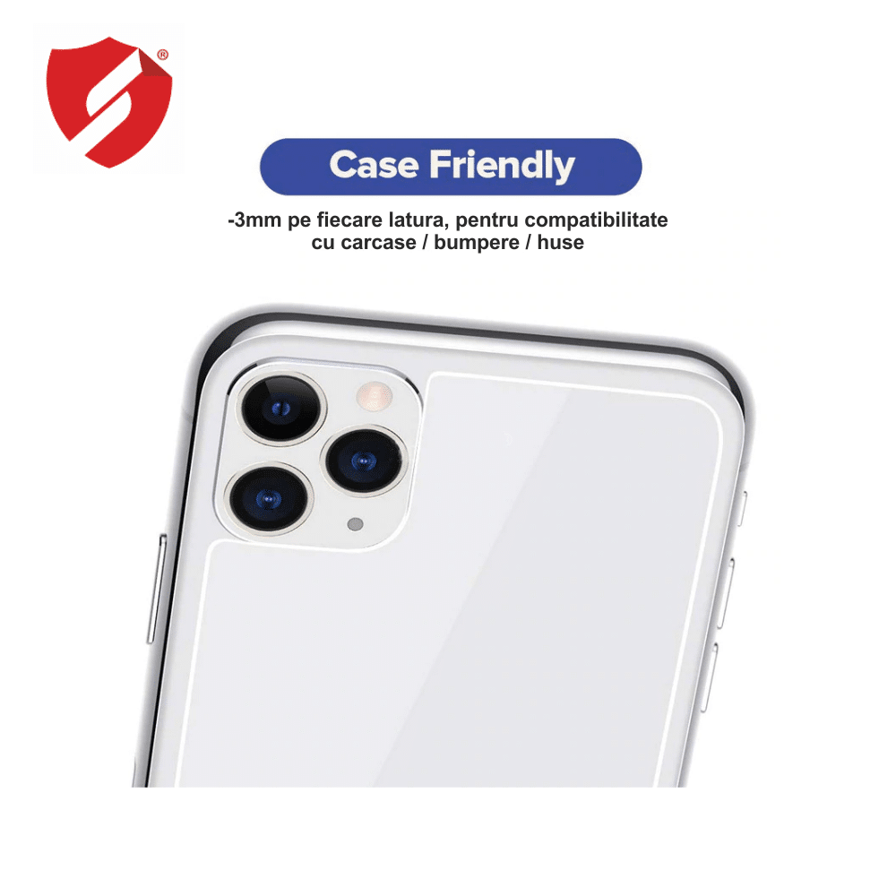 Tempered Glass Smart Protection pentru geamul spate Apple iPhone 11 - Ultra Smart Protection Display imagine