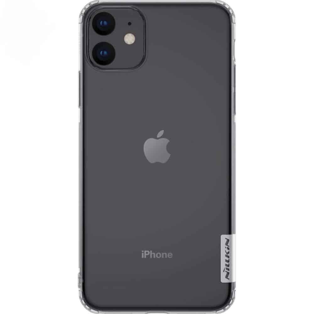 Carcasa OEM Nillkin Nature TPU pentru iPhone 11 transparenta imagine