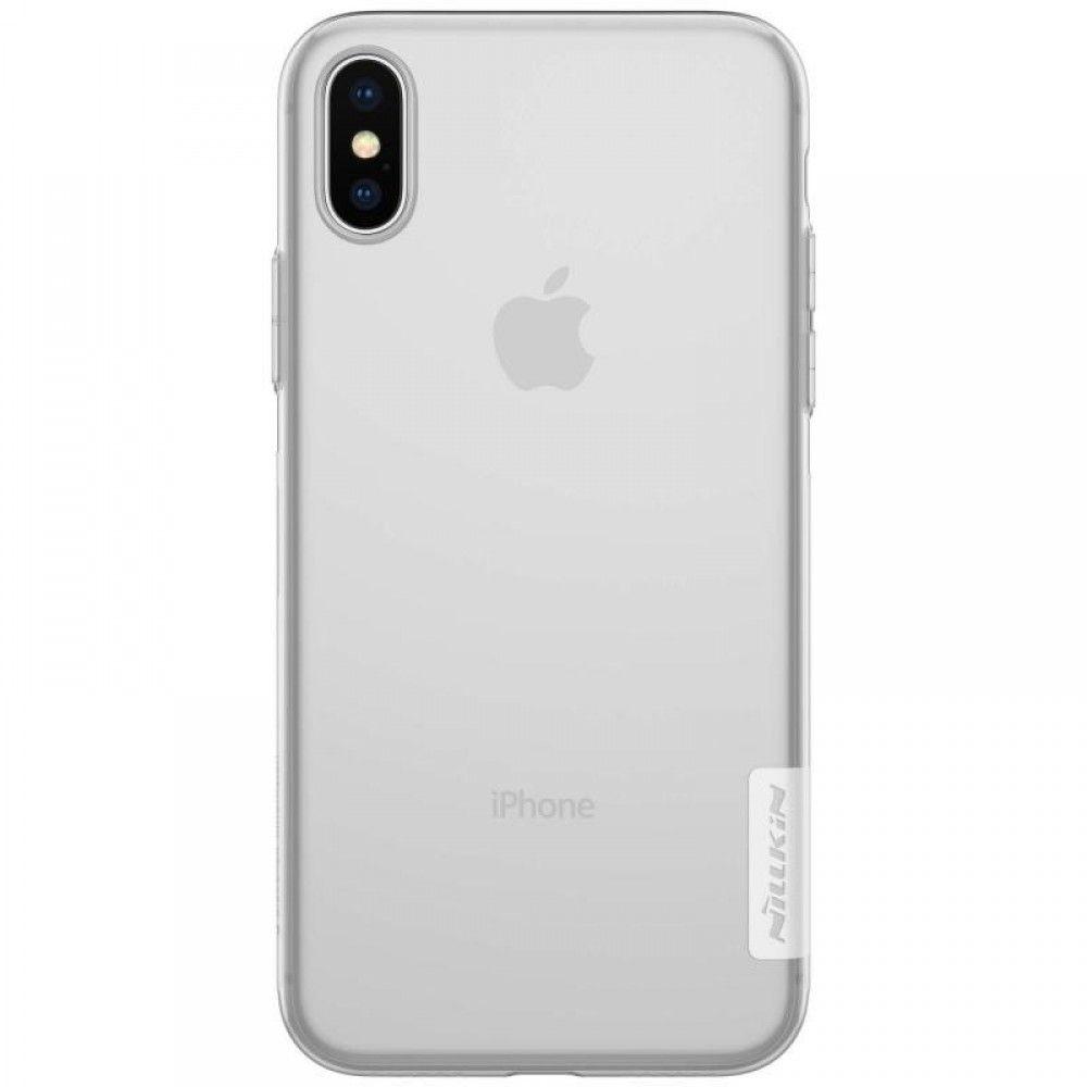 Carcasa OEM Nillkin Nature TPU pentru iPhone x si Xs transparenta imagine