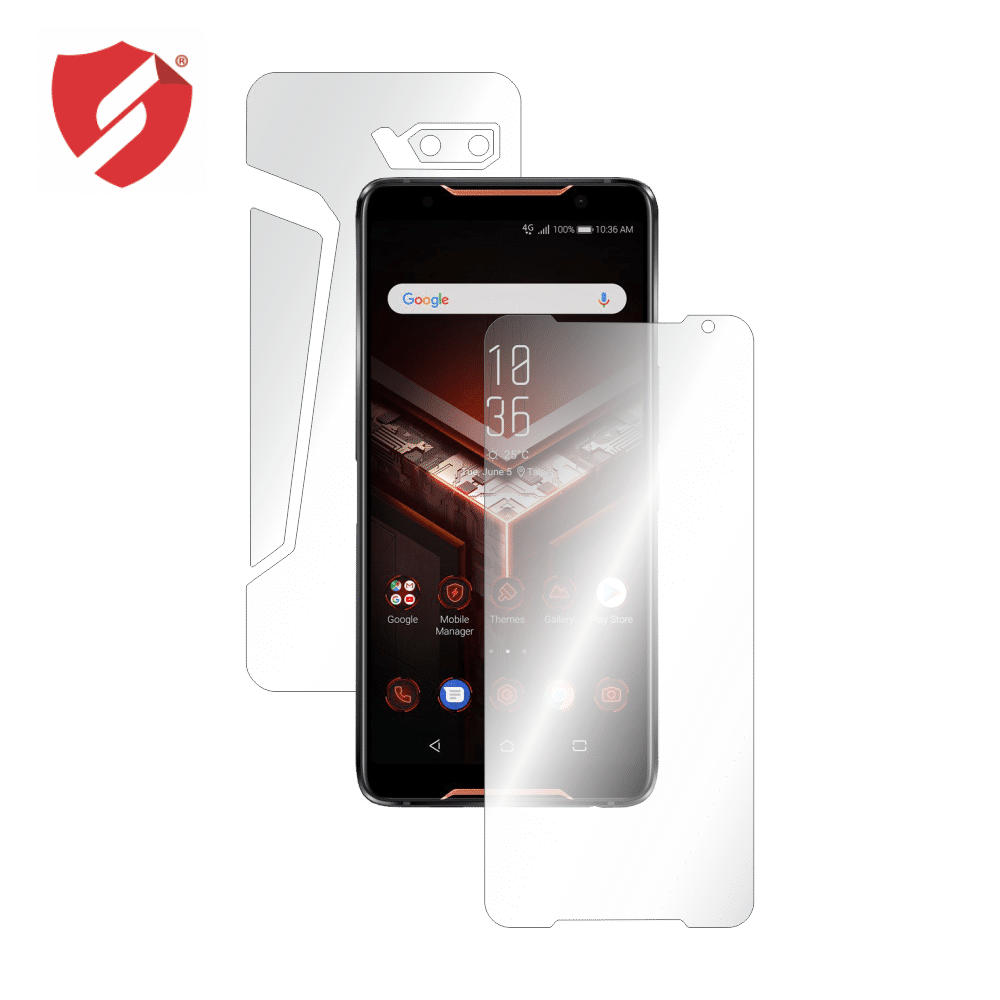 Folie protectie Smart Protection Asus Rog Phone 2 ZS660KL - fullbody-cu-ecran-case-friendly imagine