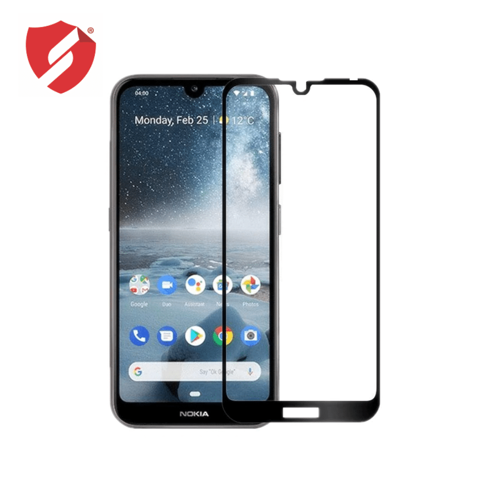 Tempered Glass Ultra Smart Protection Nokia 7.2 3D fulldisplay negru - Ultra Smart Protection Display imagine
