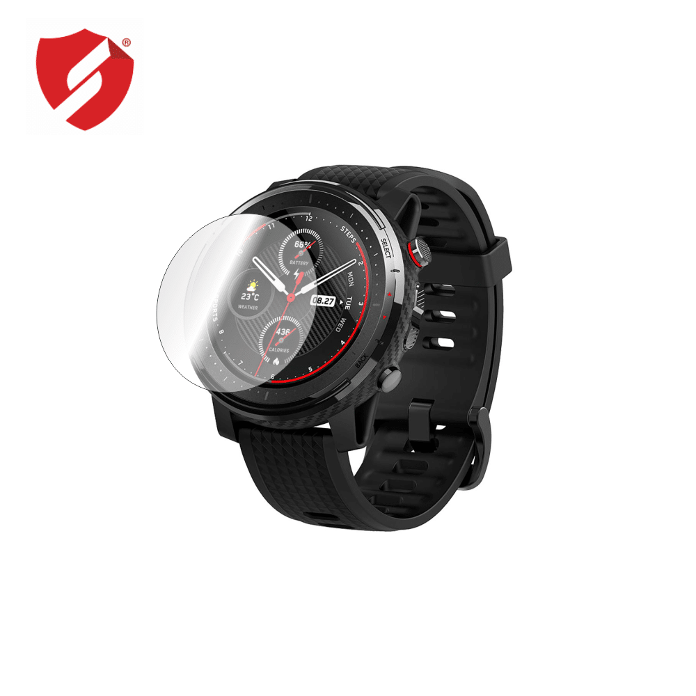 Folie de protectie Smart Protection Smartwatch Xiaomi Amazfit Stratos 3 - 4buc x folie display imagine