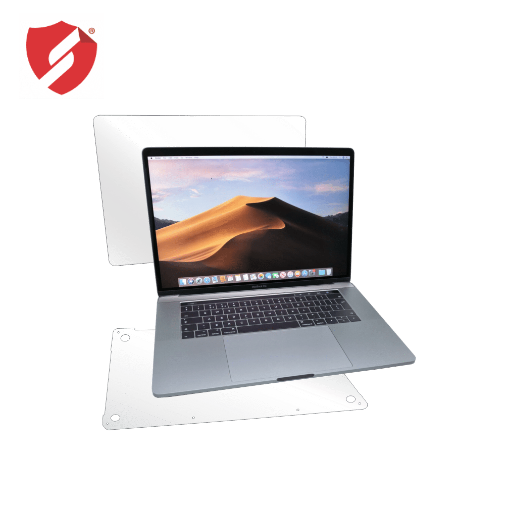 Folie Smart Protection MacBook Pro 15 2016-2019 cu Touch Bar - capac si spate (buttom) imagine