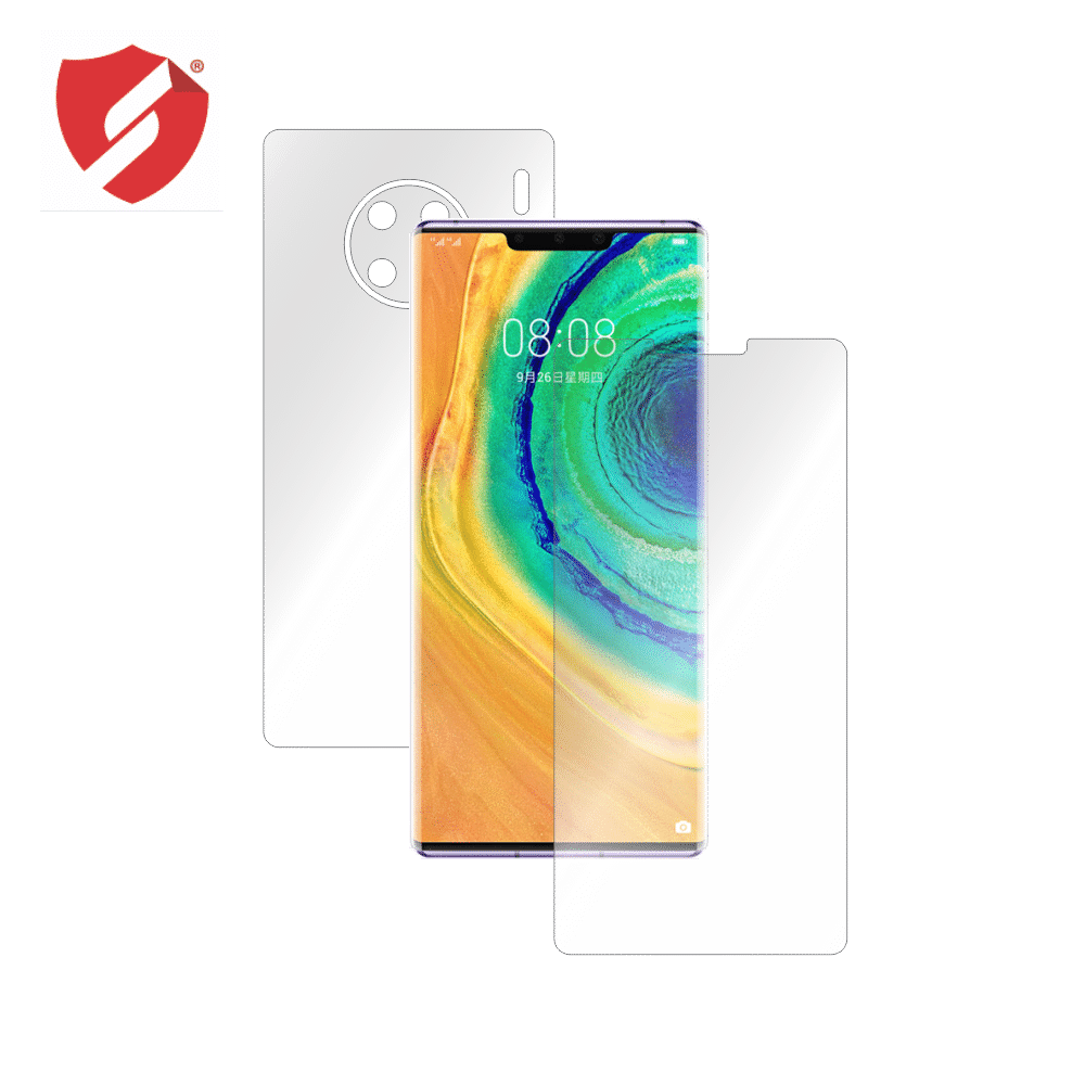 Folie de protectie Smart Protection Huawei Mate 30 Pro - fullbody-display-si-spate imagine