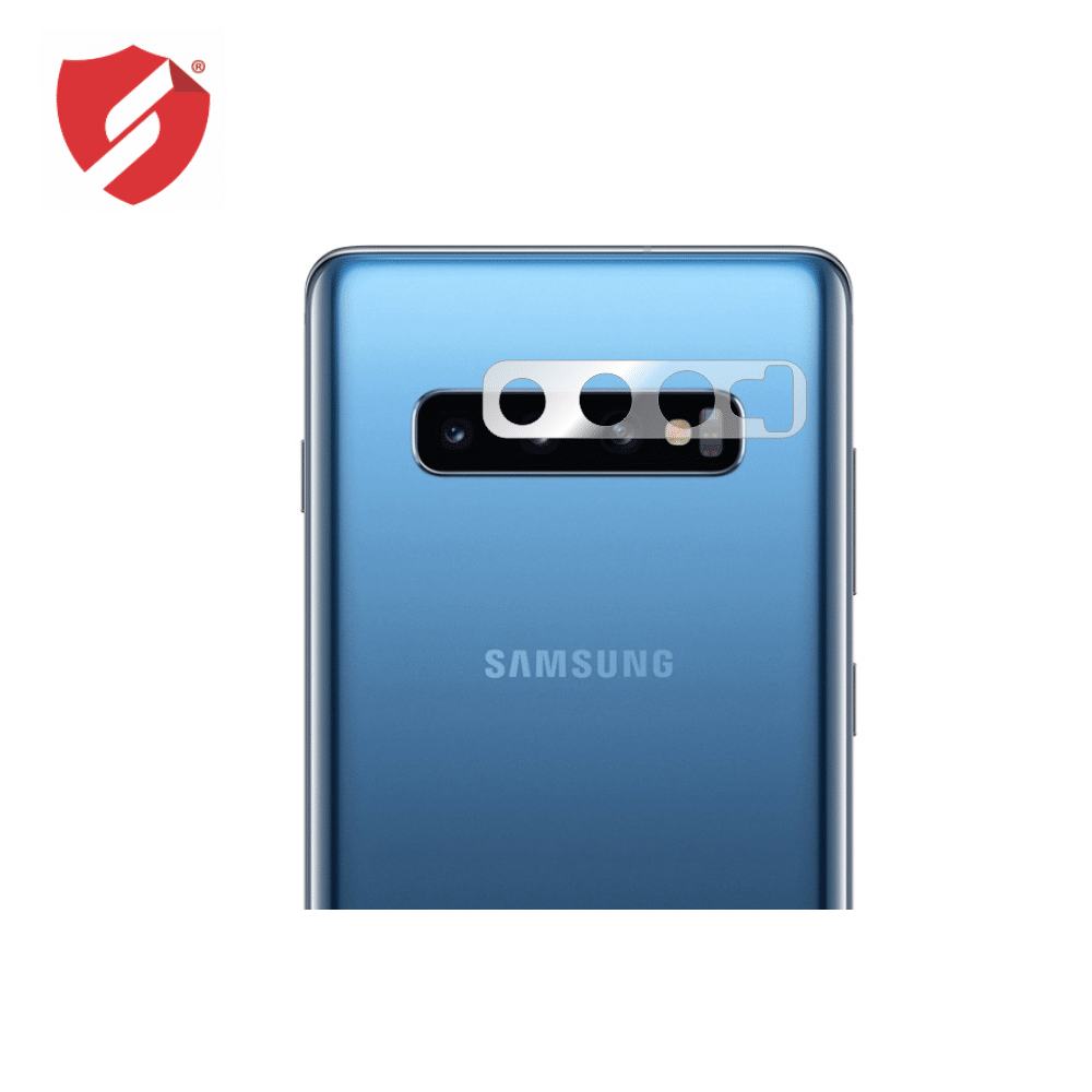Folie de protectie Smart Protection lentile camera spate Samsung Galaxy S10 Plus - 4buc x folie display imagine
