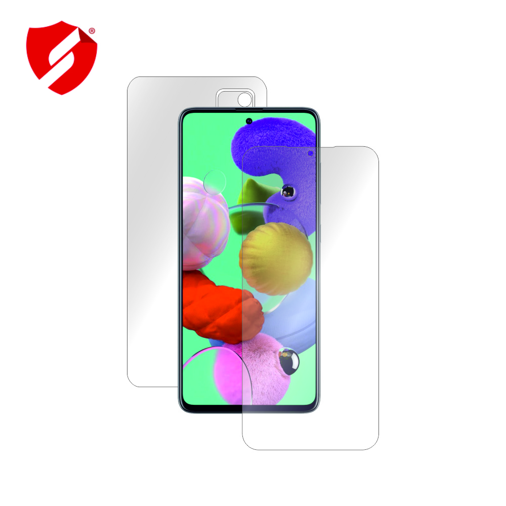 Folie de protectie Smart Protection Samsung Galaxy A51 - fullbody - display + spate + laterale imagine