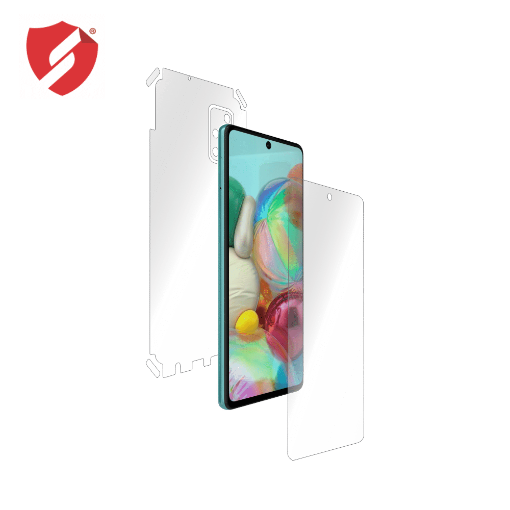 Folie Antireflex Mata Smart Protection Samsung Galaxy A71 - fullbody - display + spate + laterale imagine