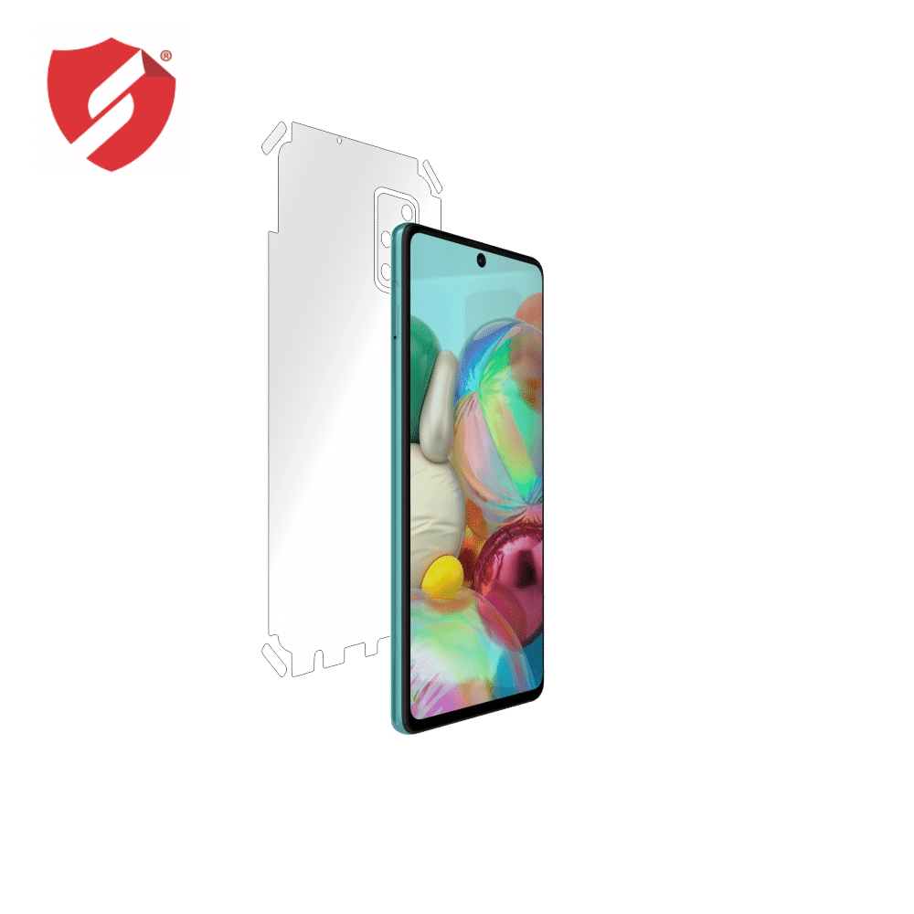 Folie de protectie Smart Protection Samsung Galaxy A71 - doar-spate+laterale imagine