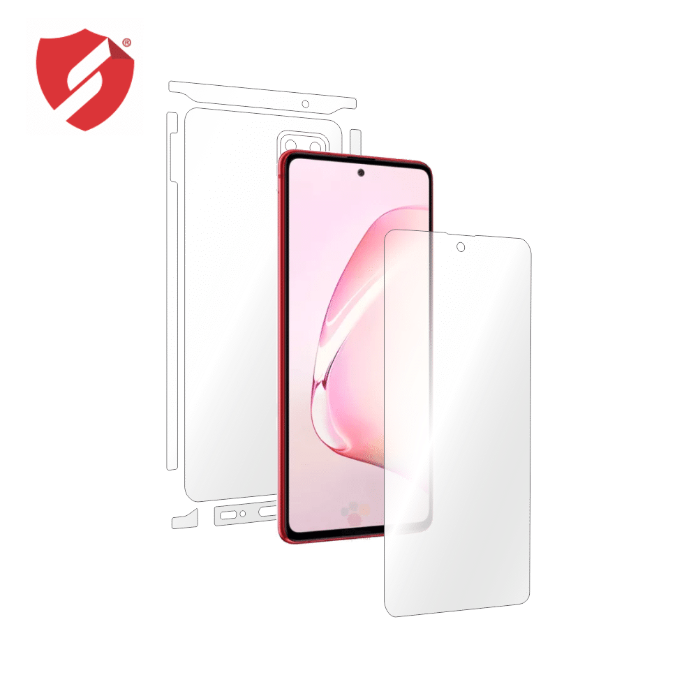 Folie Antireflex Mata Smart Protection Samsung Galaxy Note 10 Lite - fullbody - display + spate + laterale imagine