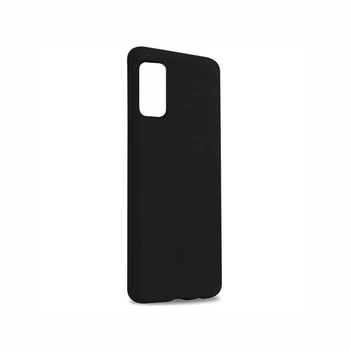 Carcasa neagra tip Silicone Cover pentru Samsung Galaxy S20/S20 5G imagine
