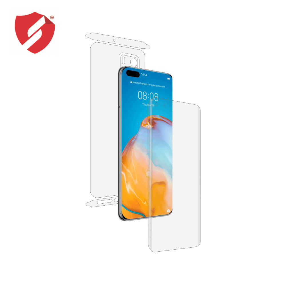 Folie de protectie Smart Protection Huawei P40 Pro - fullbody - display + spate + laterale imagine