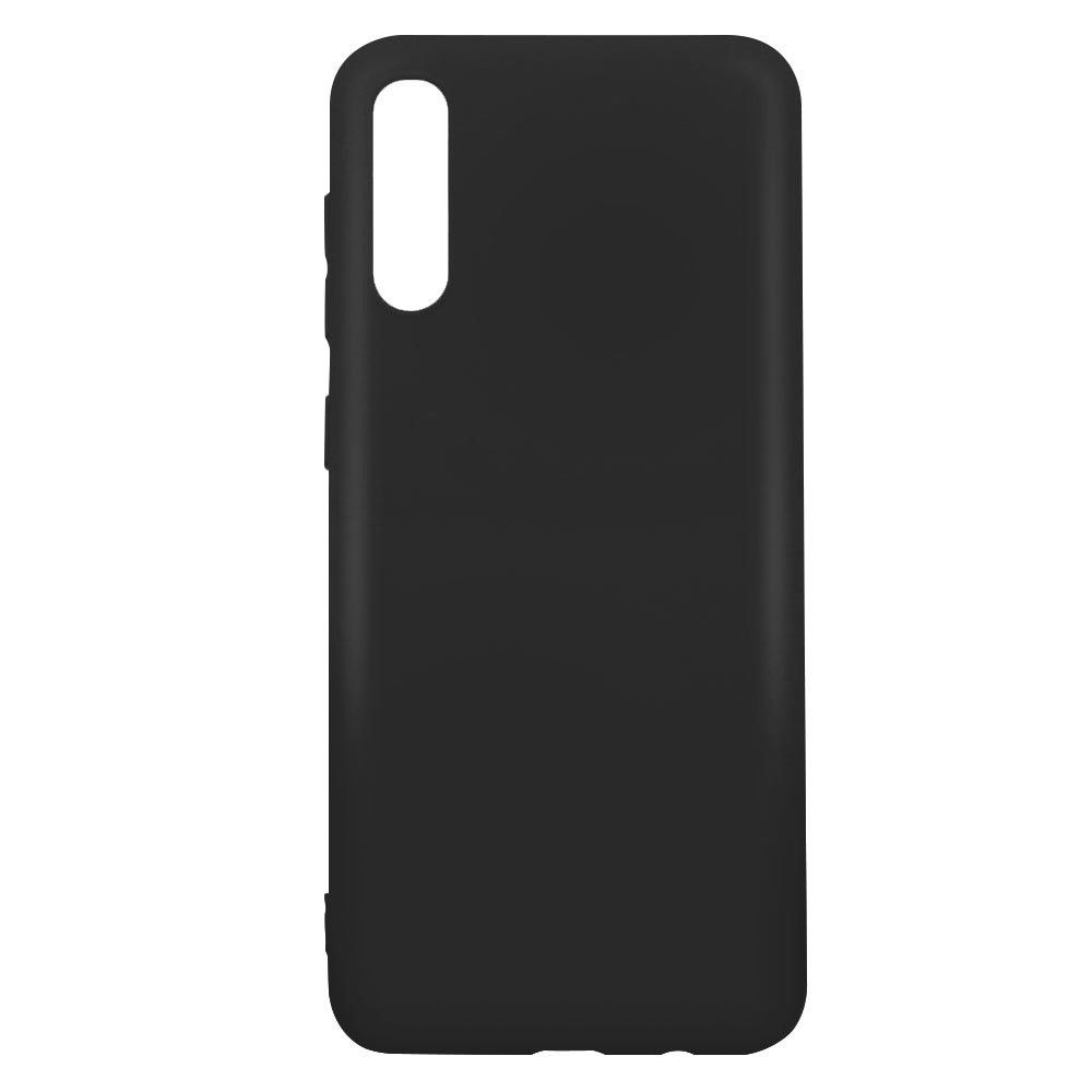 Carcasa neagra tip Silicone Cover pentru Samsung Galaxy A50 imagine
