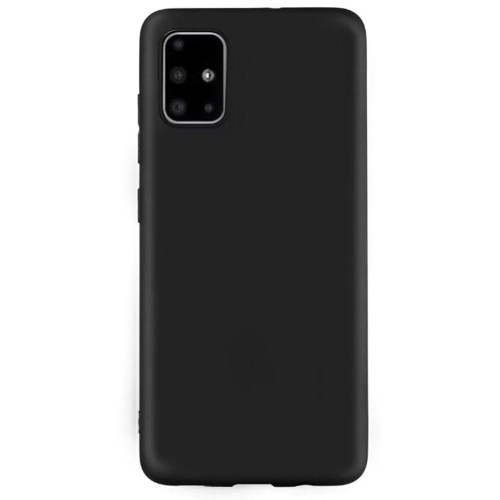 Carcasa neagra tip Silicone Cover pentru Samsung Galaxy A51 imagine