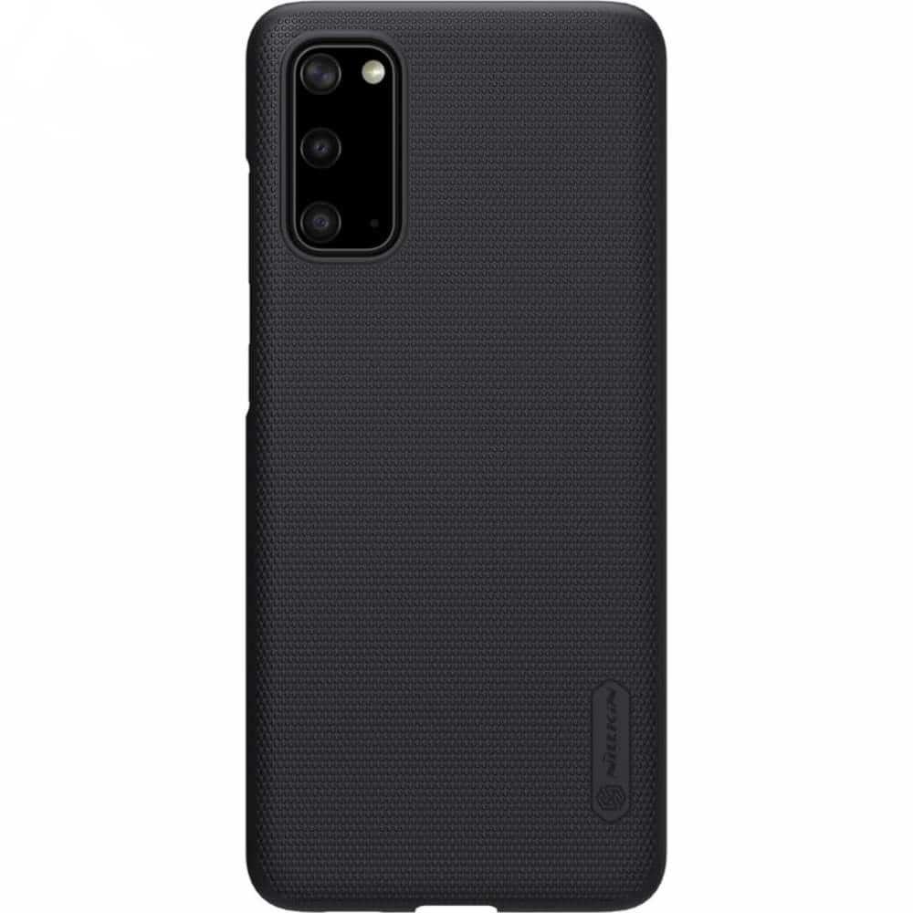 Carcasa Samsung Galaxy S20/S20 5G Super Frosted Nillkin OEM Neagra imagine