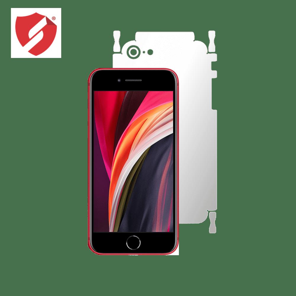 Folie Antireflex Mata Smart Protection Apple iPhone SE 2020 - doar-spate+laterale imagine