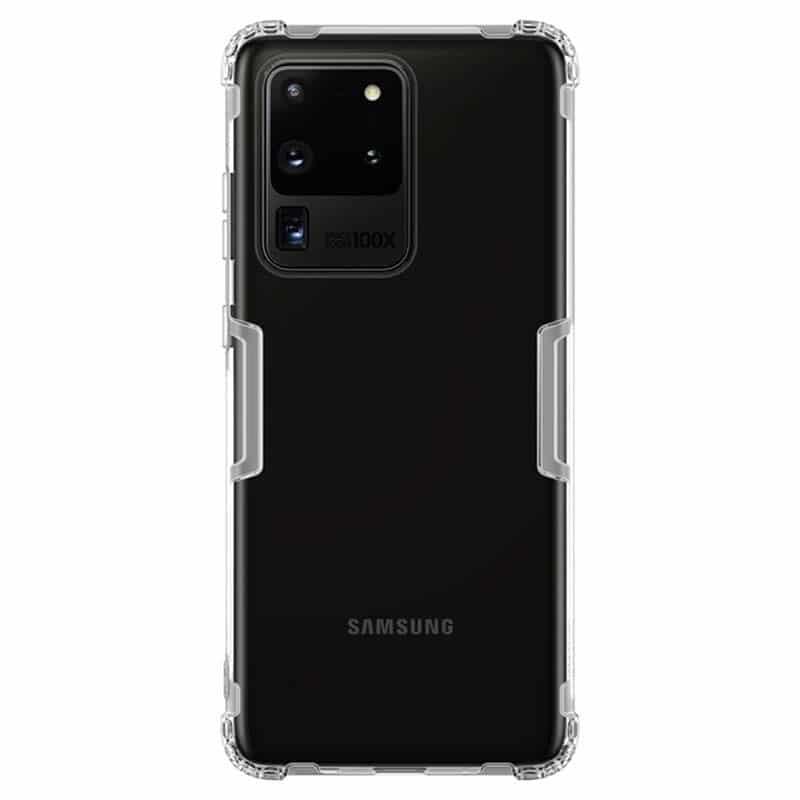 Carcasa Nillkin Nature TPU pentru Samsung Galaxy S20 Ultra transparenta imagine