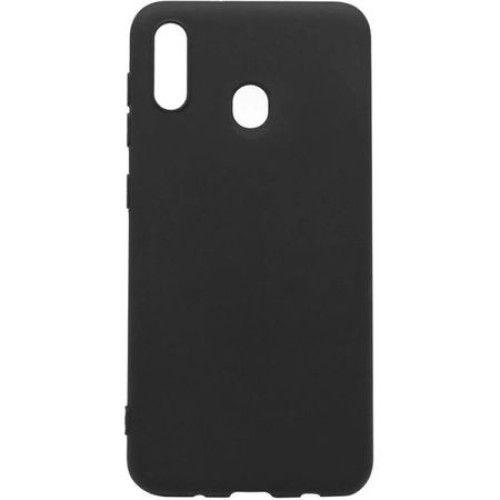 Carcasa neagra tip Silicone Cover pentru Samsung Galaxy A20e imagine