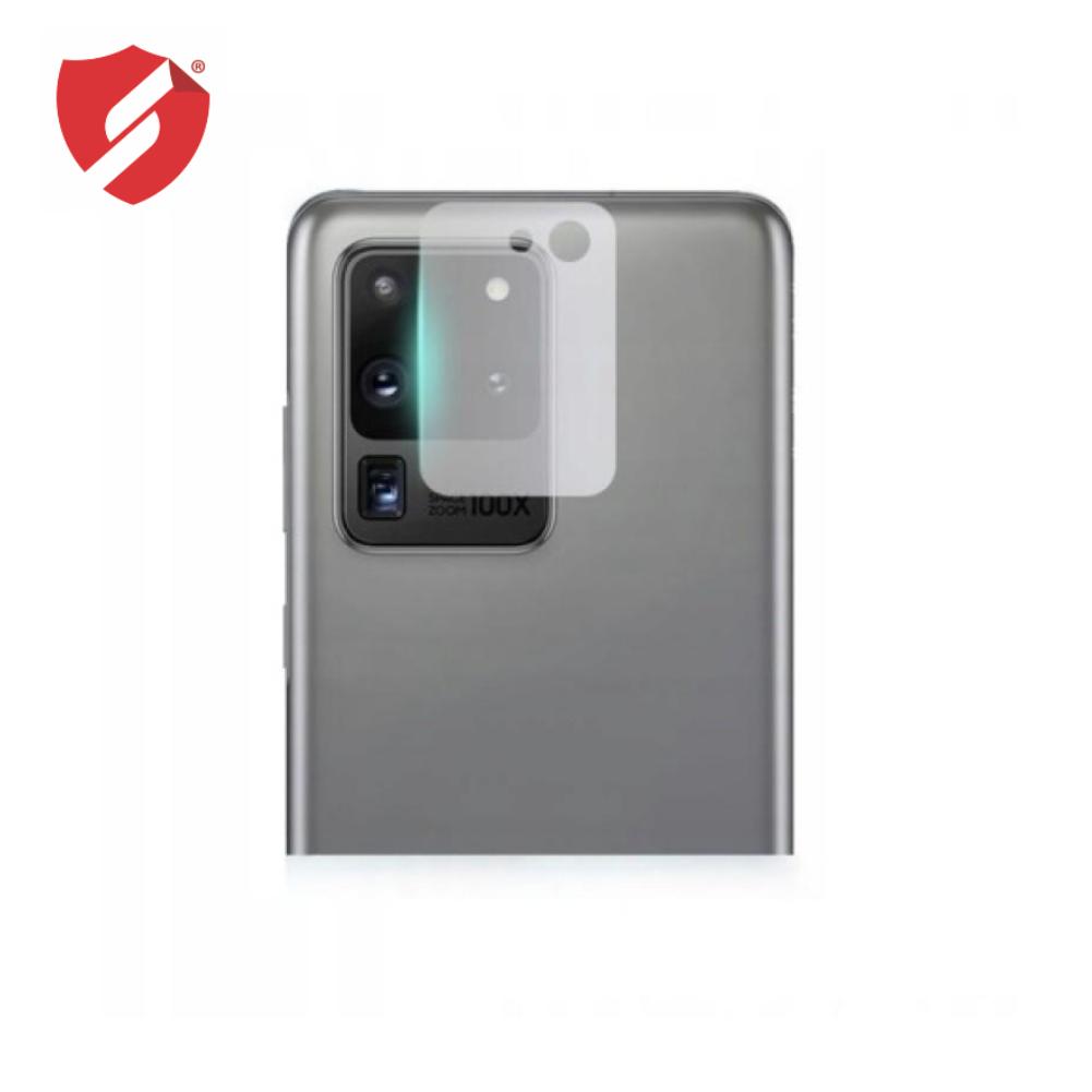 Protectie Smart Protection pentru camera Samsung Galaxy S20 Ultra din sticla transparenta imagine