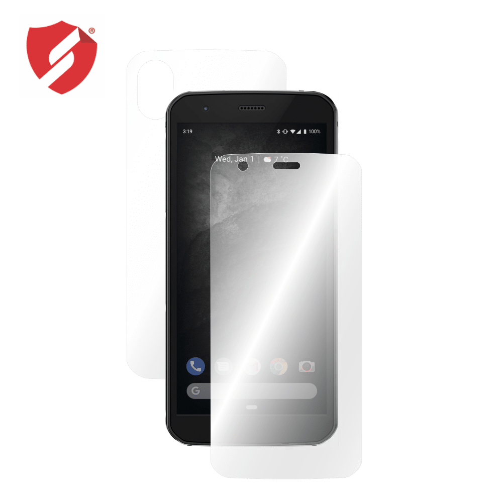 Folie de protectie Clasic Smart Protection CAT S52 - fullbody - display + spate + laterale imagine