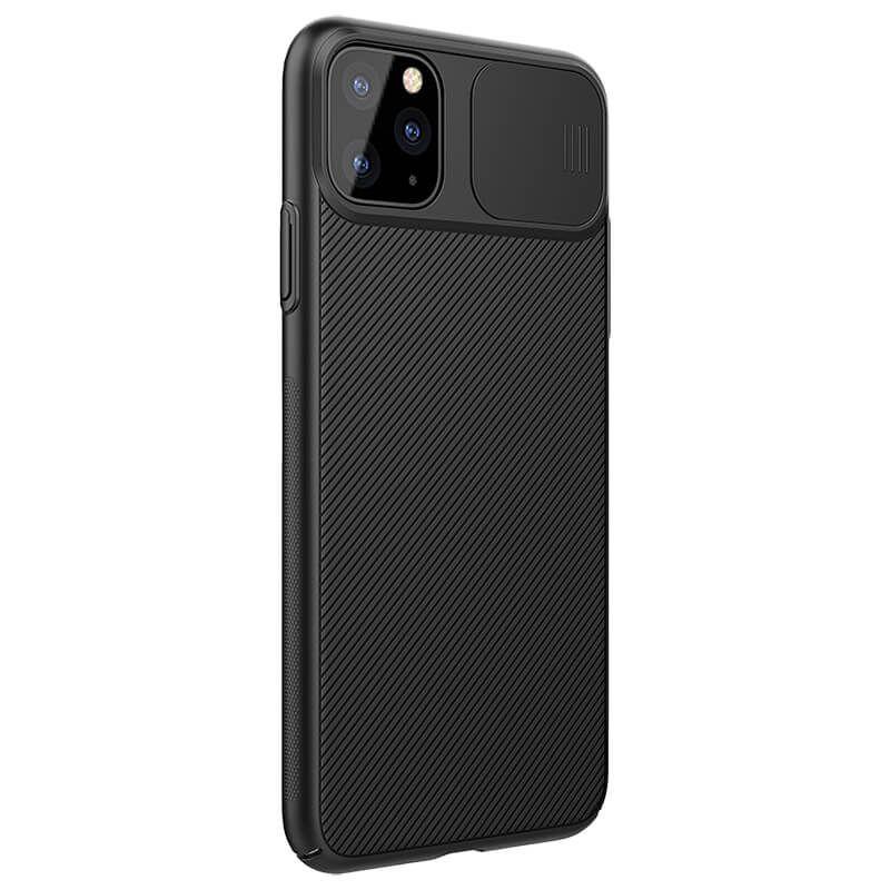 Carcasa neagra Apple iPhone 11 Pro Max Nillkin CamShield imagine