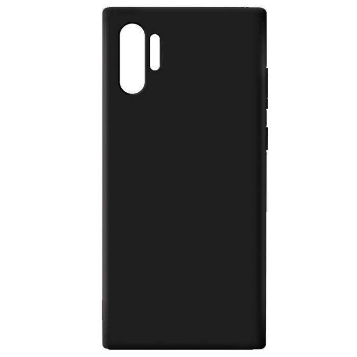 Carcasa neagra tip Silicone Cover pentru Samsung Galaxy Note 10 Plus imagine