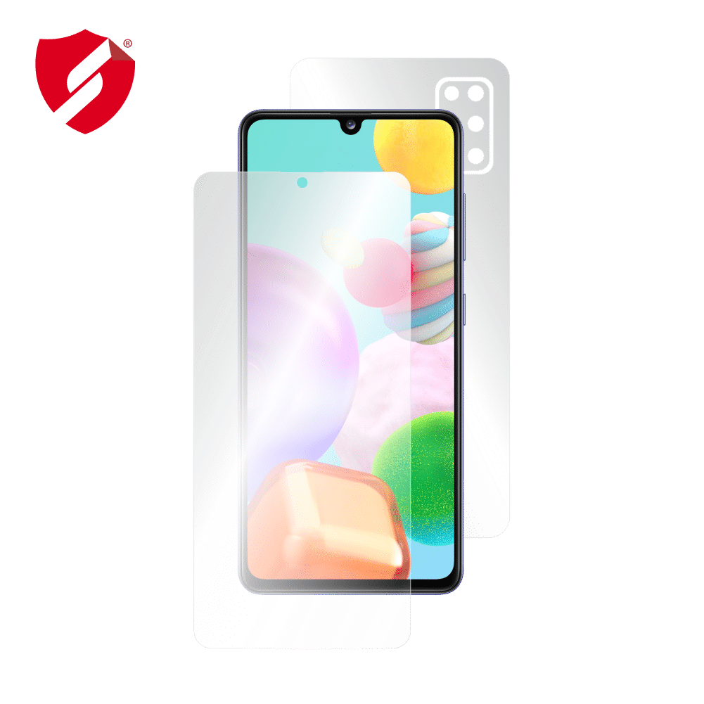 Folie AntiReflex Mata Smart Protection Samsung Galaxy A41 - fullbody-display-si-spate imagine