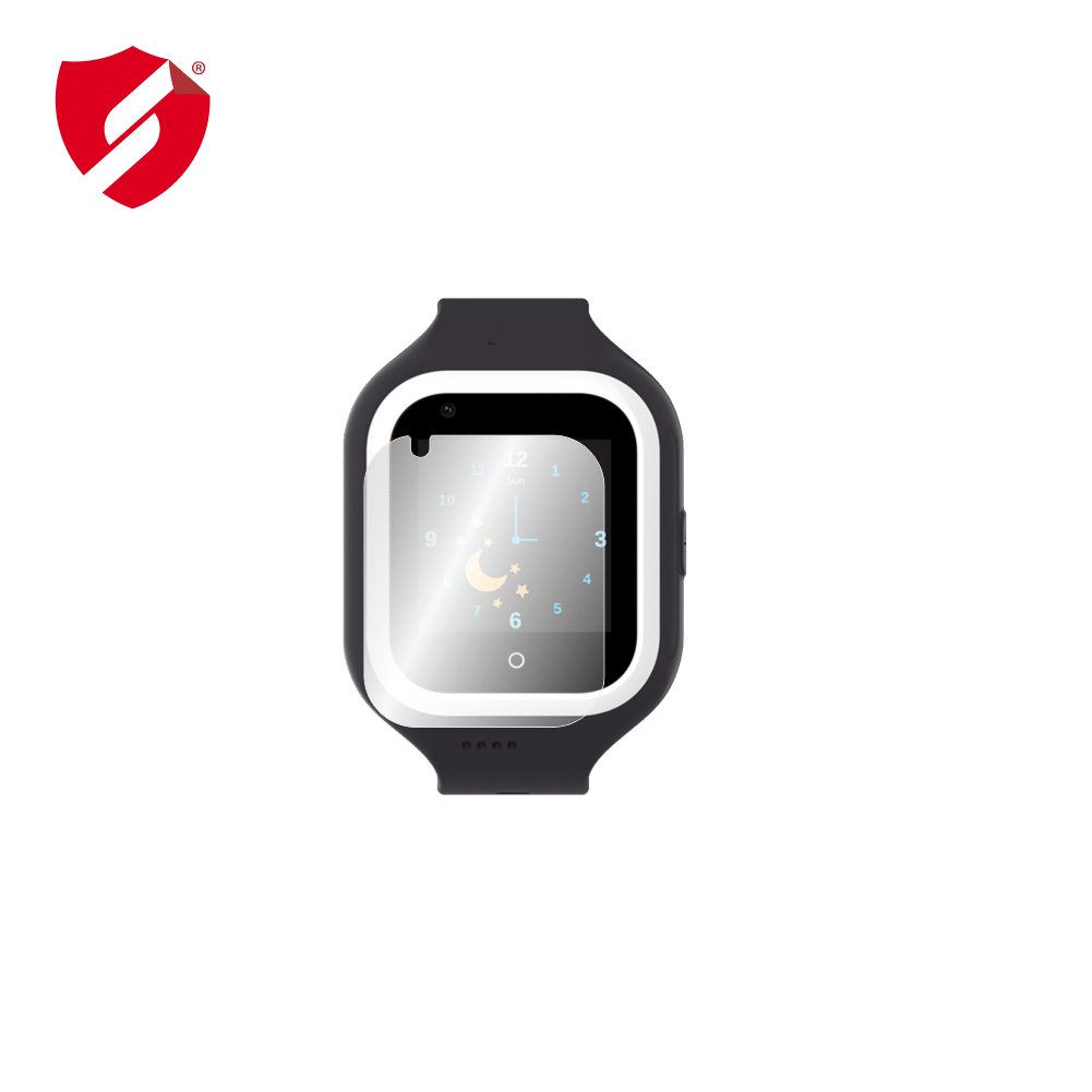 Folie Smart Protection Smartwatch cu GPS pentru copii Wonlex KT21 - 2buc x folie display imagine