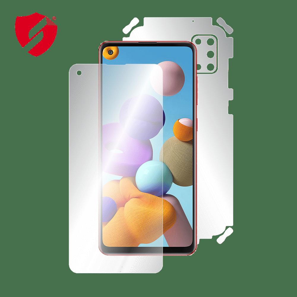 Folie AntiReflex Mata Smart Protection Samsung Galaxy A21s - fullbody - display + spate + laterale imagine