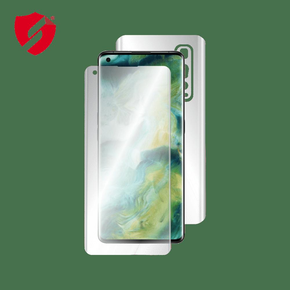 Folie de protectie Antireflex Mata Smart Protection Oppo Find X2 Pro - fullbody-display-si-spate imagine