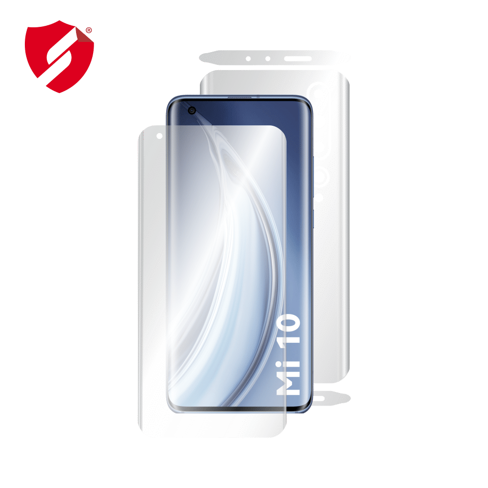 Folie de protectie Clasic Smart Protection Xiaomi Mi 10 Pro 5G - fullbody - display + spate + laterale imagine