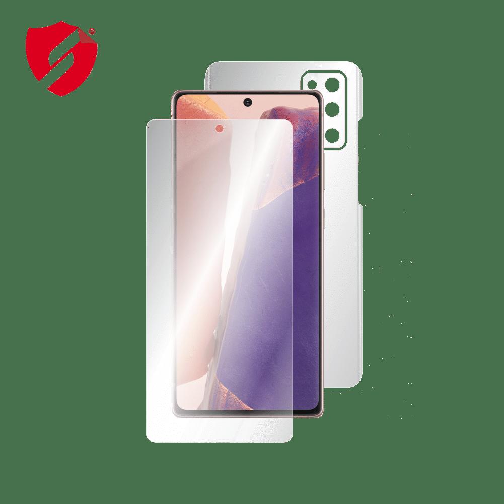 Folie de protectie Antireflex Mata Smart Protection Samsung Galaxy Note 20 - fullbody-display-si-spate imagine