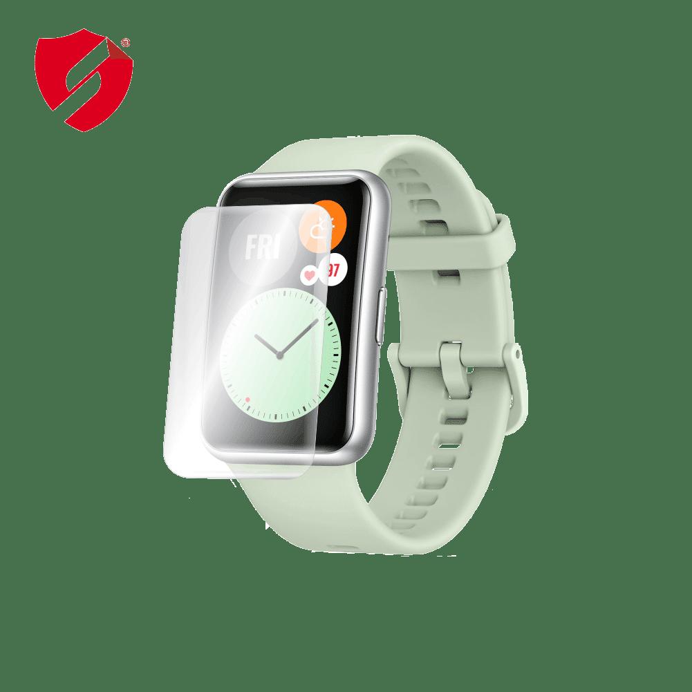 Folie de protectie Antireflex Mata Smart Protection Huawei Watch Fit - 2buc x folie display imagine