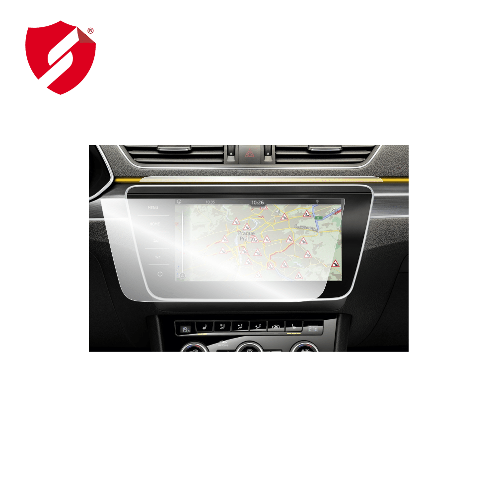 Folie de protectie Smart Protection Navi Skoda Superb 2019-2020 12 inch - 2buc x folie display imagine