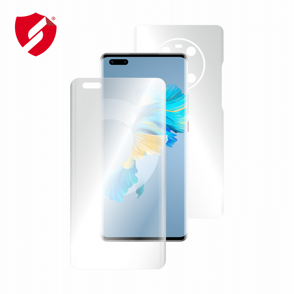 Folie de protectie Smart Protection Huawei Mate 40 Pro - fullbody-display-si-spate imagine