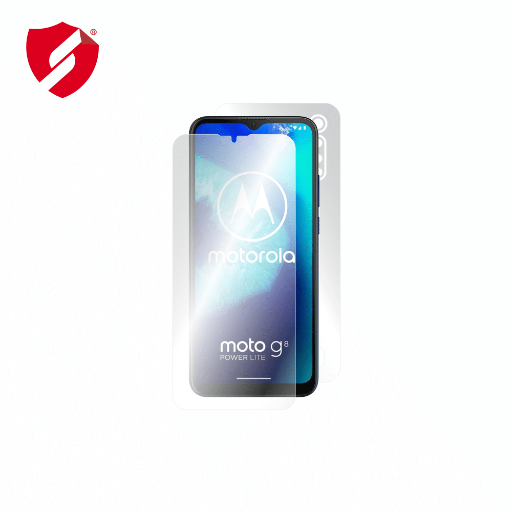 Folie de protectie Smart Protection Motorola Moto G8 Power lite - fullbody-display-si-spate imagine