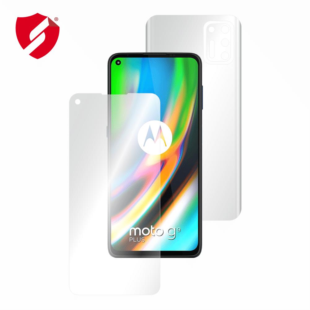 Folie Antireflex Mata Smart Protection Motorola Moto G9 Plus - fullbody-display-si-spate imagine