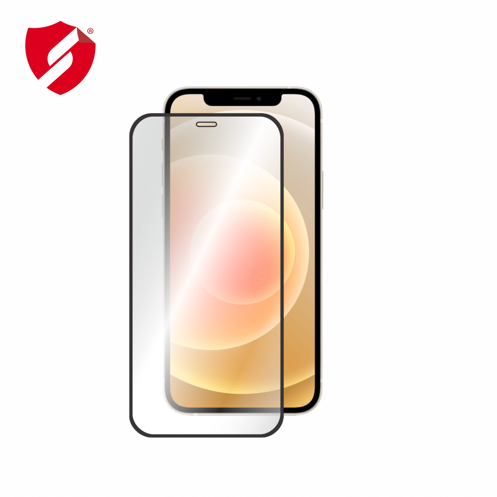 Tempered Glass - Ultra Smart Protection iPhone 12 fulldisplay 3D Negru - Ultra Smart Protection Display imagine