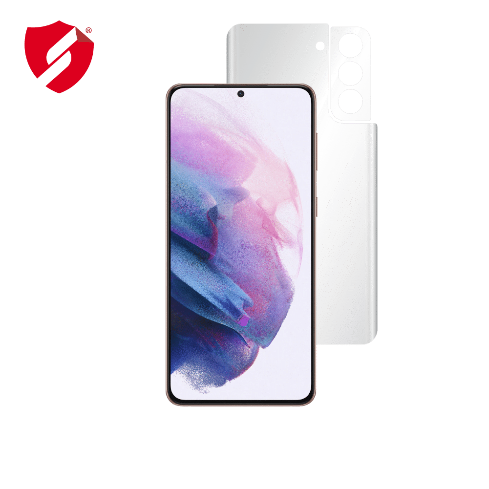 Folie Antireflex Mata Smart Protection Samsung Galaxy S21 Plus 5G - doar spate imagine