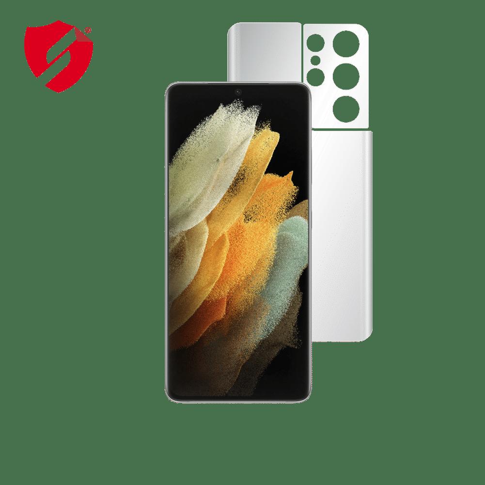 Folie Antireflex Mata Smart Protection Samsung Galaxy S21 Ultra 5G - doar spate imagine